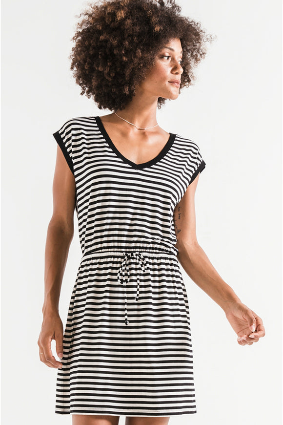 The Striped Shirred Dress | Z Supply