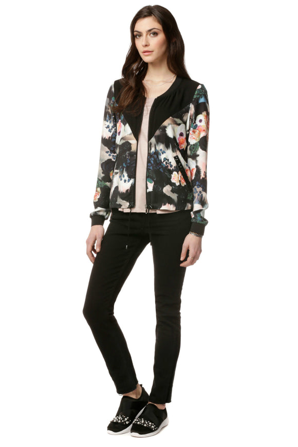 Stretch fabric jacket - TIFFANY Gardenia | Schwiing