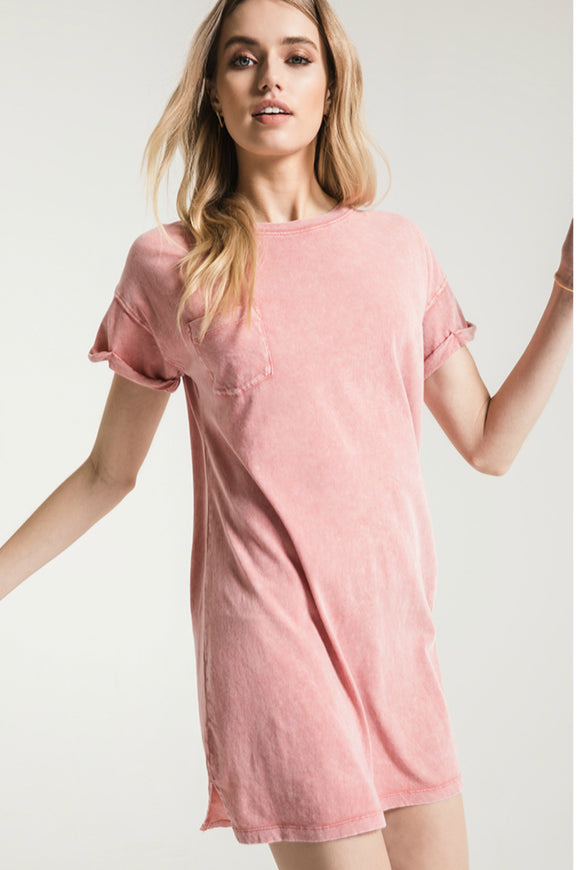 The Washed Cotton T-shirt Dress | Z Supply