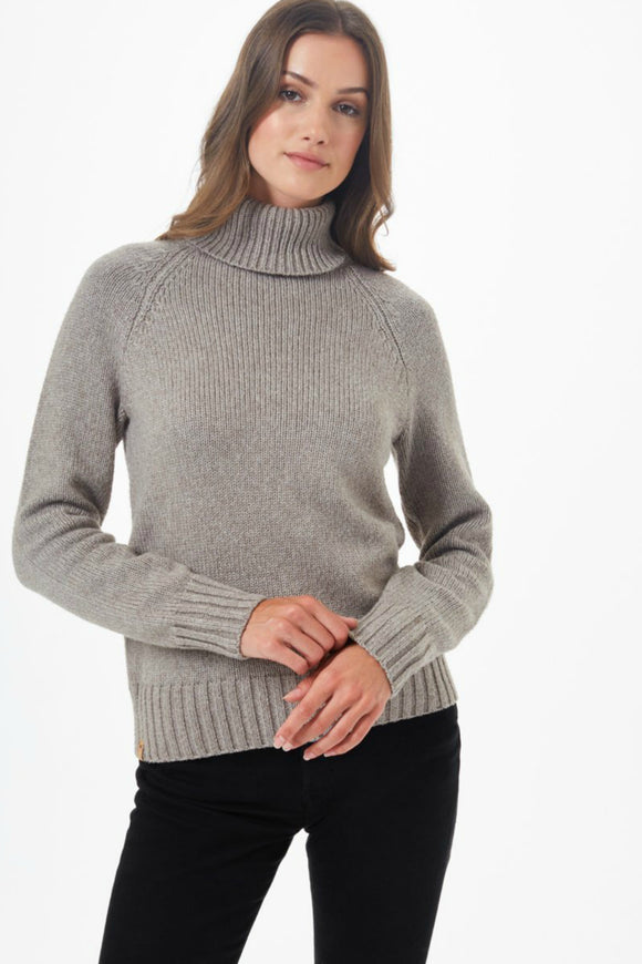 tentree wool turtleneck