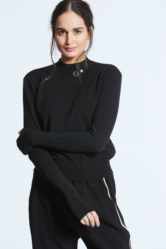 Vasilisa Soft Knit Jumper | Angel Eye