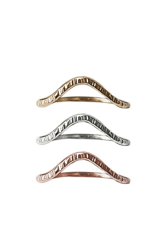 Wave Stacking Ring | Strut