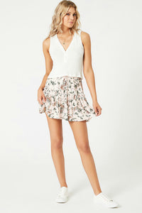 women's mini skirt for summer.