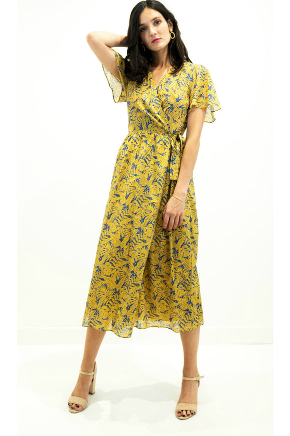 Floral Wrap Dress | The Korner