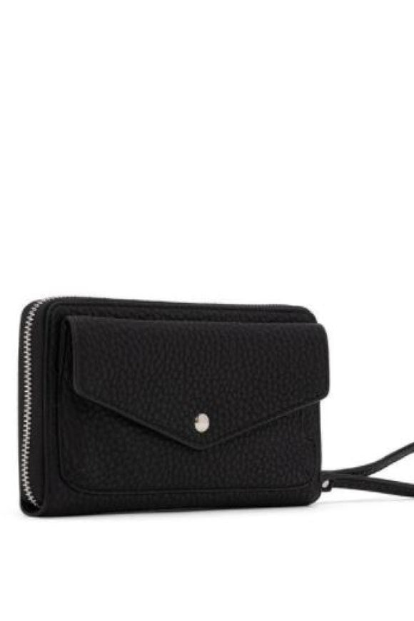 Pebble Clutch Wristlet - Black | Colab