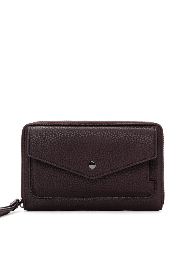 Pebble Clutch Wristlet - Fudge | Colab