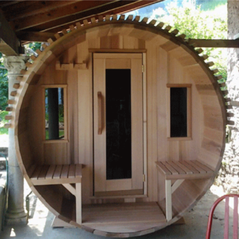 Dundalk Leisure Craft Window for Barrel and Panoramic View Sauna