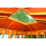 Dundalk Leisure Red Cedar Islander Gazebo