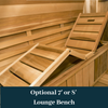 Dundalk Leisure Craft Knotty Cedar Barrel Saunas