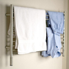 Amba Jeeves L-STRAIGHT  Heated Towel Rack - My Sauna World