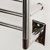 Amba Radiant Hardwired Heated Towel Rack - My Sauna World