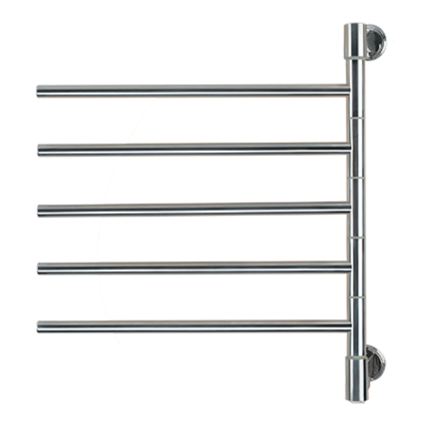Amba Swivel Jack D005 Heated Towel Rack - My Sauna World