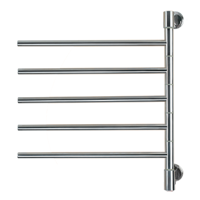 Amba Swivel Jack D006 Heated Towel Rack - My Sauna World