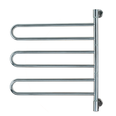 Amba Swivel Jill B003 Heated Towel Rack - My Sauna World