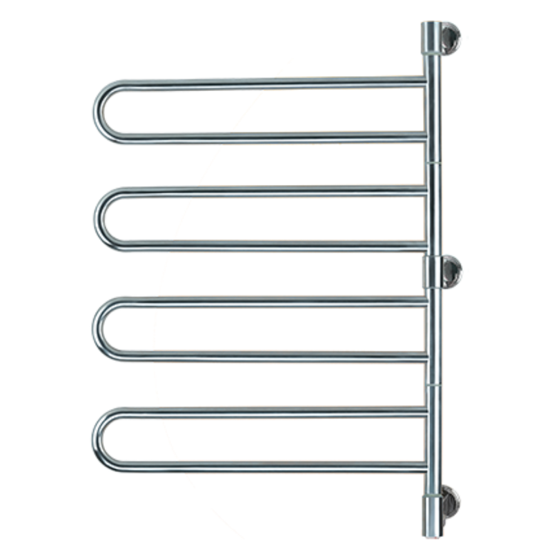 Amba Swivel Jill B004 Heated Towel Rack - My Sauna World