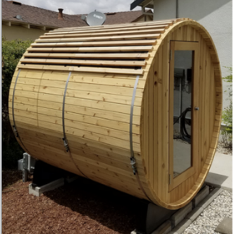 Barrel Sauna Roof Kit -My Sauna World