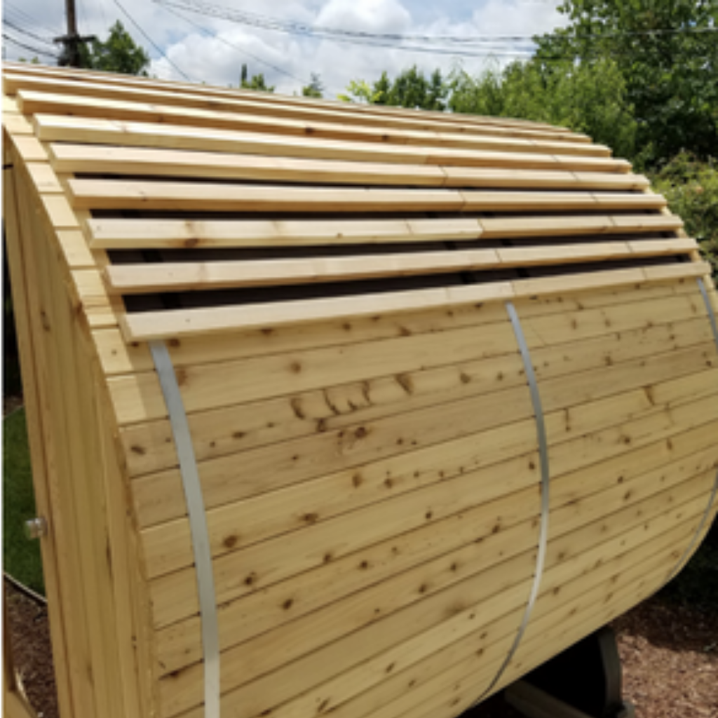 Almost Heaven Barrel Sauna Roof Kit