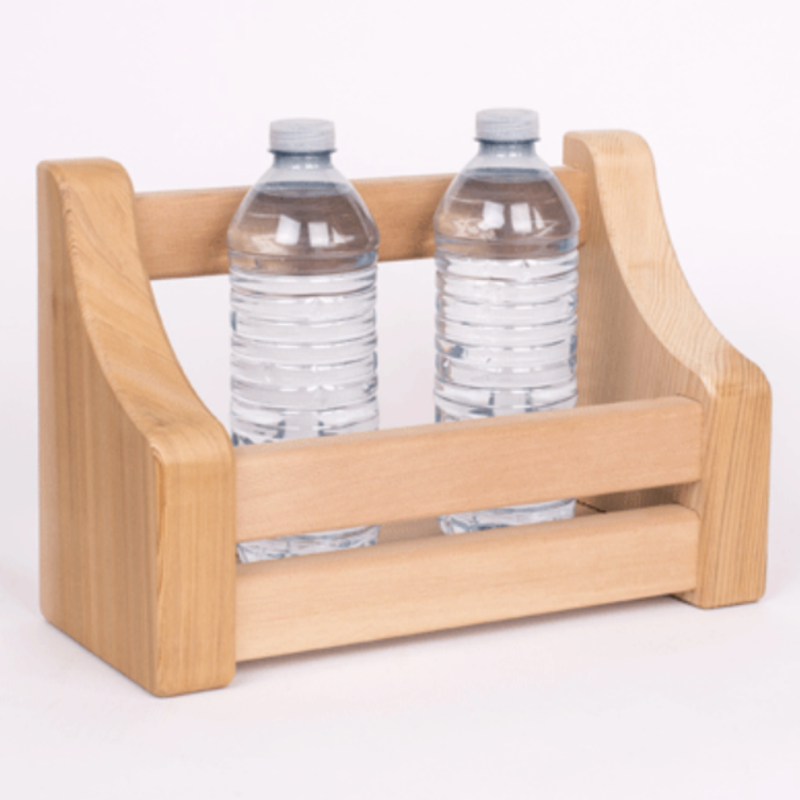 Dundalk Leisure Craft Cedar Bottle Shelf