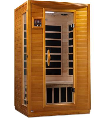 Dynamic Saunas 2-Person Far Infrared Sauna Versailles HF DYN-6202-03 - My Sauna World