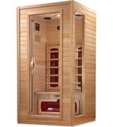 Dynamic Cindy Edition 2-Person Far Infrared Sauna DYN-9101-01 - My Sauna World