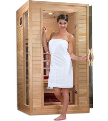 Image of Dynamic Cindy Edition 2-Person Far Infrared Sauna DYN-9101-01 - My Sauna World