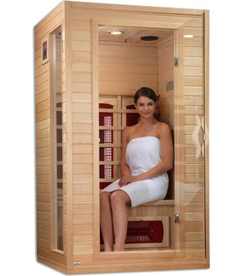 Dynamic Cindy Edition 2-Person Far Infrared Sauna DYN-9101-01