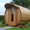 Dundalk Leisure Craft Overhang Cove on Front - My Sauna World