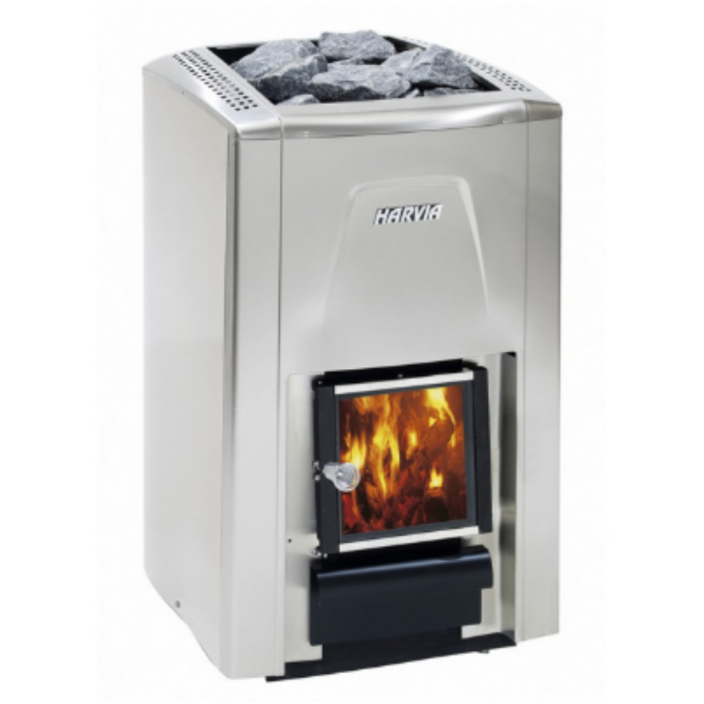 HARVIA 20 PREMIUM WOOD BURNING STOVE - My Sauna World