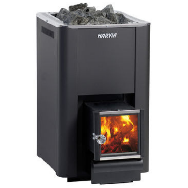 HARVIA 20 PRO SL WOODBURNING STOVE - My Sauna World