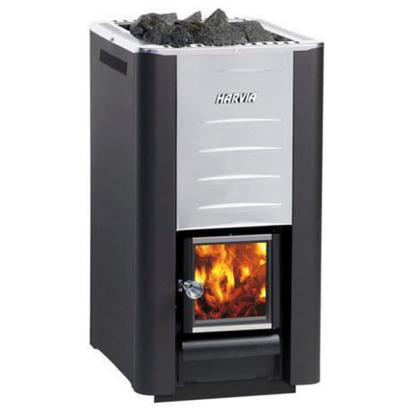 HARVIA 26 WOOD BURNING STOVE - My Sauna World