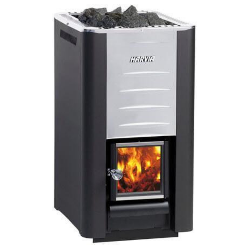 HARVIA 26 PRO WOOD BURNING STOVE - My Sauna World