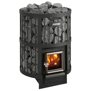 HARVIA LEGEND 240 WOODBURNING STOVE - My Sauna World