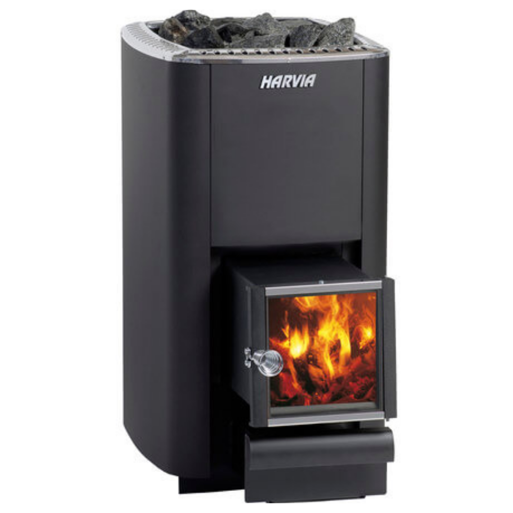 HARVIA M3 SL WOOD BURNING STOVE - My Sauna World