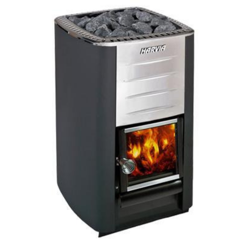 HARVIA M3 WOODBURNING STOVE - My Sauna World