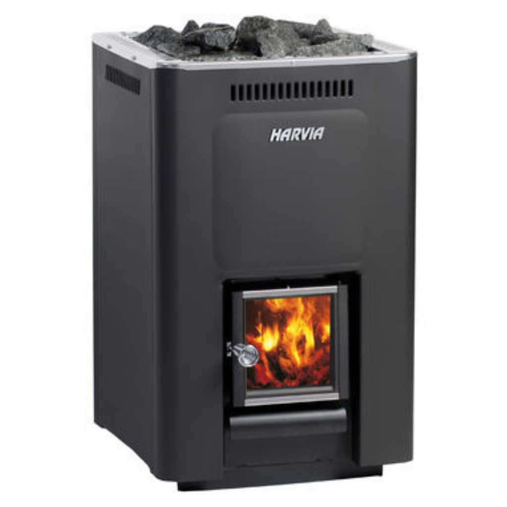 HARVIA 36 WOOD BURNING STOVE - My Sauna World