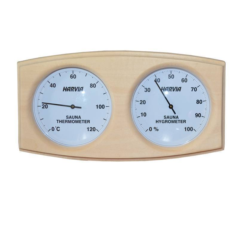 Almost Heaven Sauna Thermometer/Hygrometer - My Sauna World