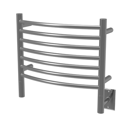 Amba Jeeves H-CURVED Heated Towel Rack - My Sauna World