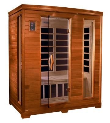 Dynamic Saunas 3-Person Far Infrared Sauna Modena Edition DYN-6444-04 - My Sauna World