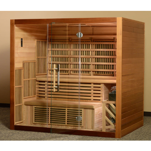 Almost Heaven Newport 4 Person Hybrid Sauna