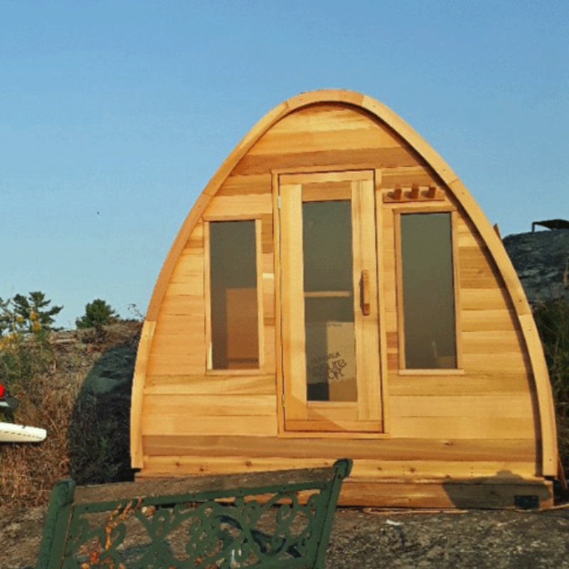 Dundalk Leisure Craft Windows for Cedar POD Sauna