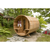 Dundalk Leisure Clear Red Cedar Barrel Sauna - My Sauna World