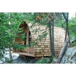 Dundalk Leisure Craft Clear Cedar POD Sauna