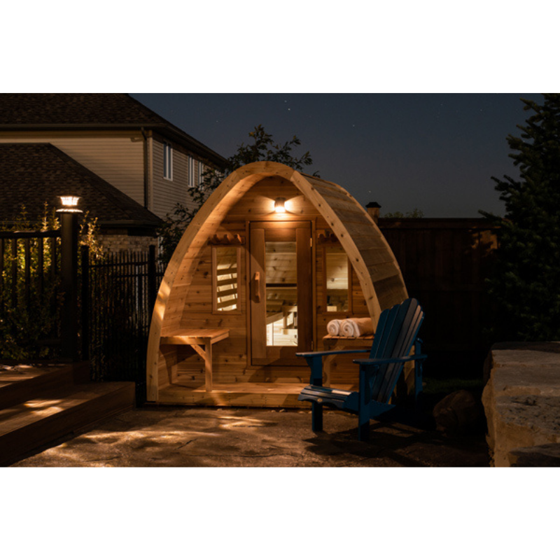 Dundalk Leisure Craft Mini POD Sauna - My Sauna World
