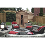 Dundalk Leisure Craft Outdoor Cabin Sauna