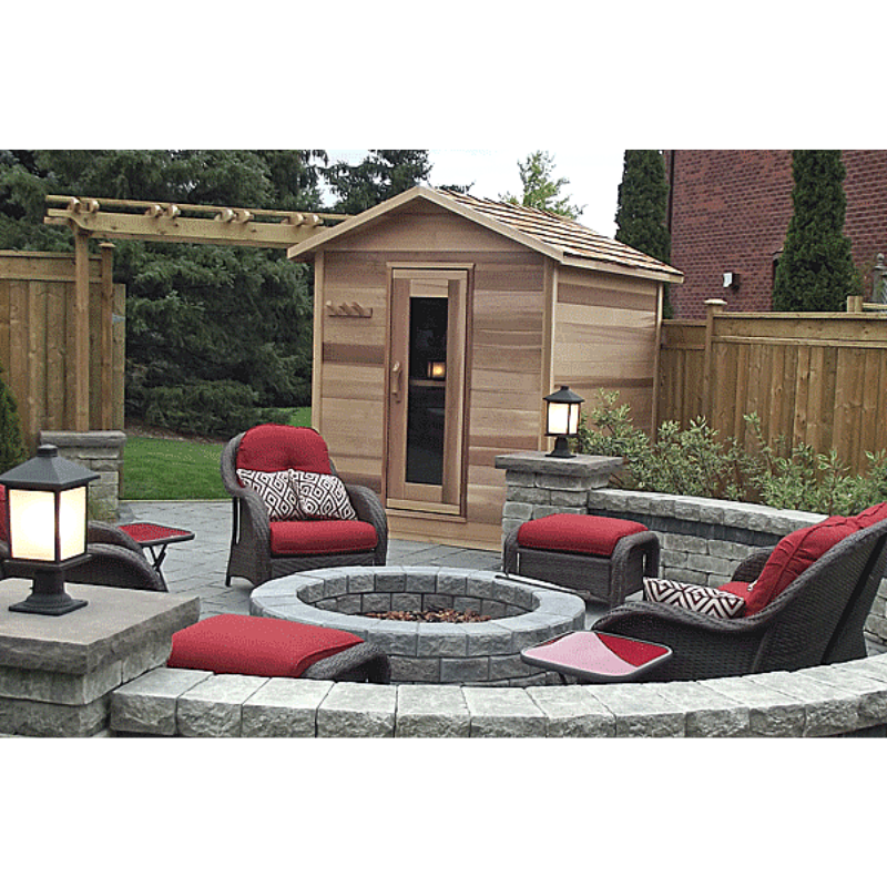 Dundalk Leisure Craft Outdoor Cabin Sauna - My Sauna World