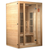"Maxxus ""Seattle"" 2 person Low EMF FAR Infrared Sauna Canadian Hemlock - My Sauna World"