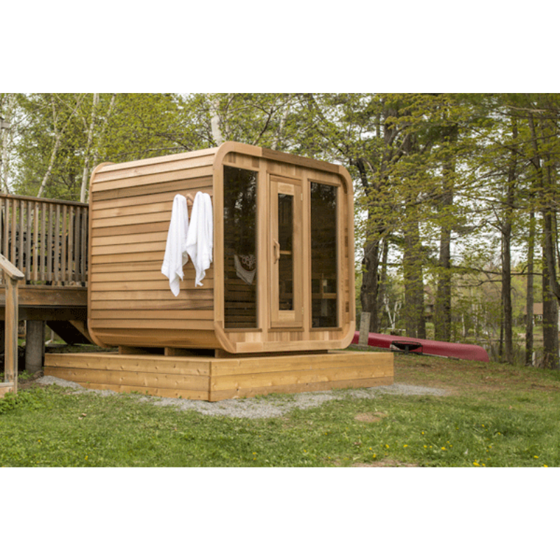 Dundalk Leisure Craft Outdoor Luna Sauna - My Sauna World