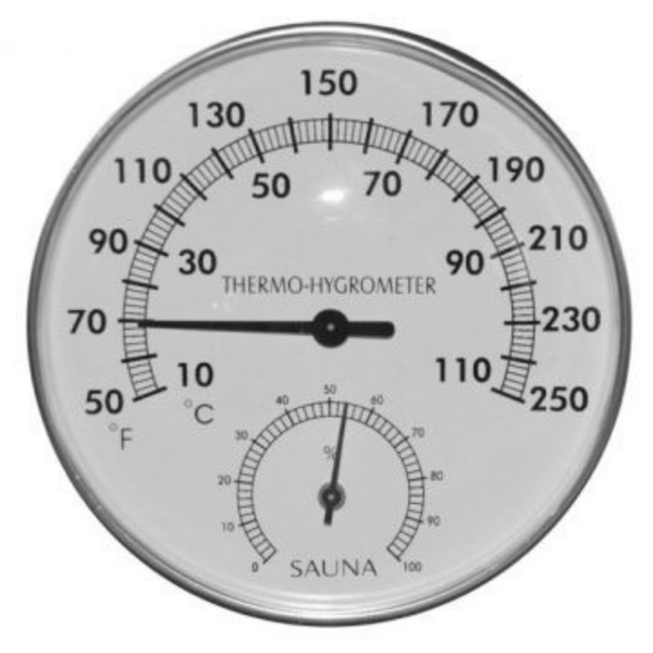 Almost Heaven Bucket, Ladle, & Thermometer Package - My Sauna World