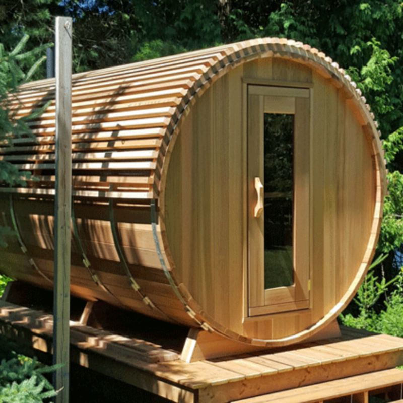 Dundalk Leisure Craft Cedar Roof with EPDM Rubber - My Sauna World