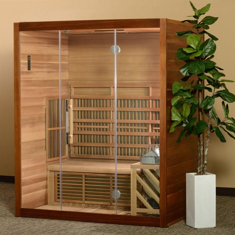 Almost Heaven Hampton 2 Person Hybrid Sauna